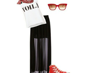 fashhion, Polyvore, and rock image