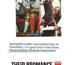 bromance, football, and friendship image