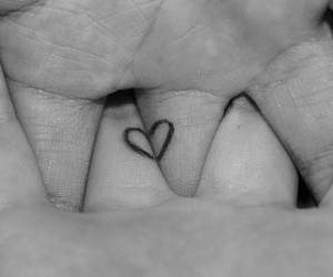 finger, friendship, and heart image