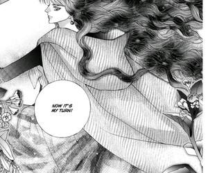 long hair, manga, and manhwa image