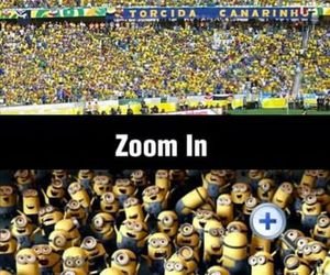 minions, funny, and football image