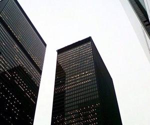 black, blackandwhite, and city image
