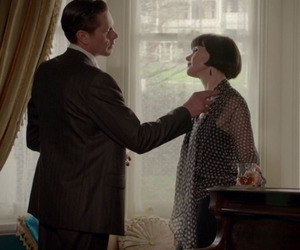 jack robinson, miss fisher, and love image