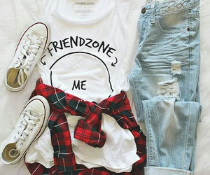 cloths, fashion, and convers image