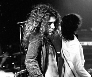 robert plant, led zeppelin, and jimmy page image