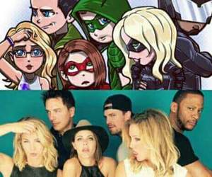 arrow and Black Canary image