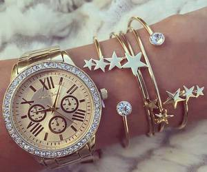 fashion, bracelet, and diamonds image