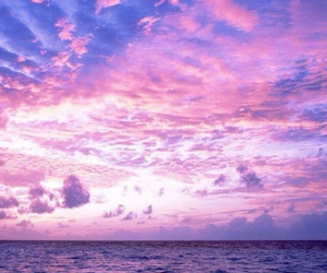 photography, pink, and sky image