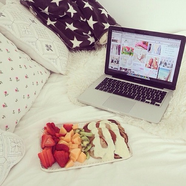 fruit, bedroom, and delicious image
