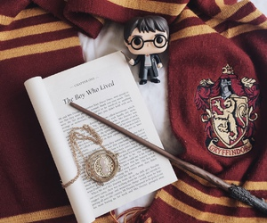 harry potter, book, and gryffindor image