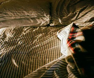 bed, light, and photography image
