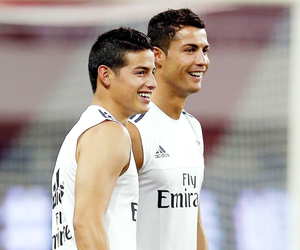 real madrid, football, and james rodriguez image
