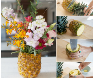 decor, diy, and flowers image