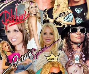 britney spears, Collage, and pop image