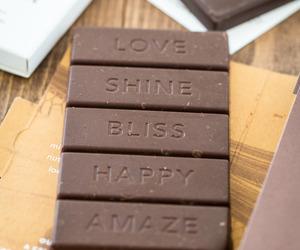 chocolate, food, and happy image