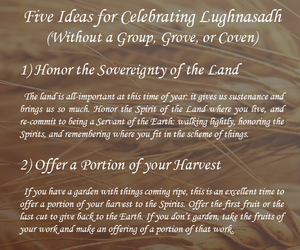 magick, wicca, and lughnasadh image
