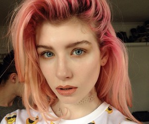 grunge, pale, and pink image