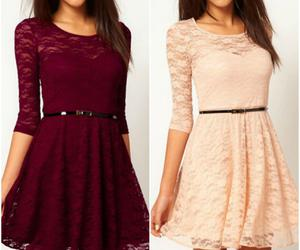 lace dresses and cute outfits image