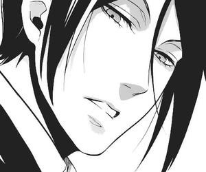 kuroshitsuji, manga, and sebastian michaelis image