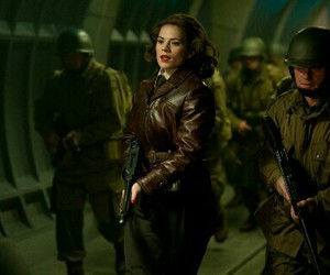captain america and peggy carter image