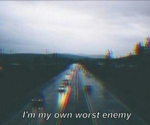 enemy, grunge, and sad image