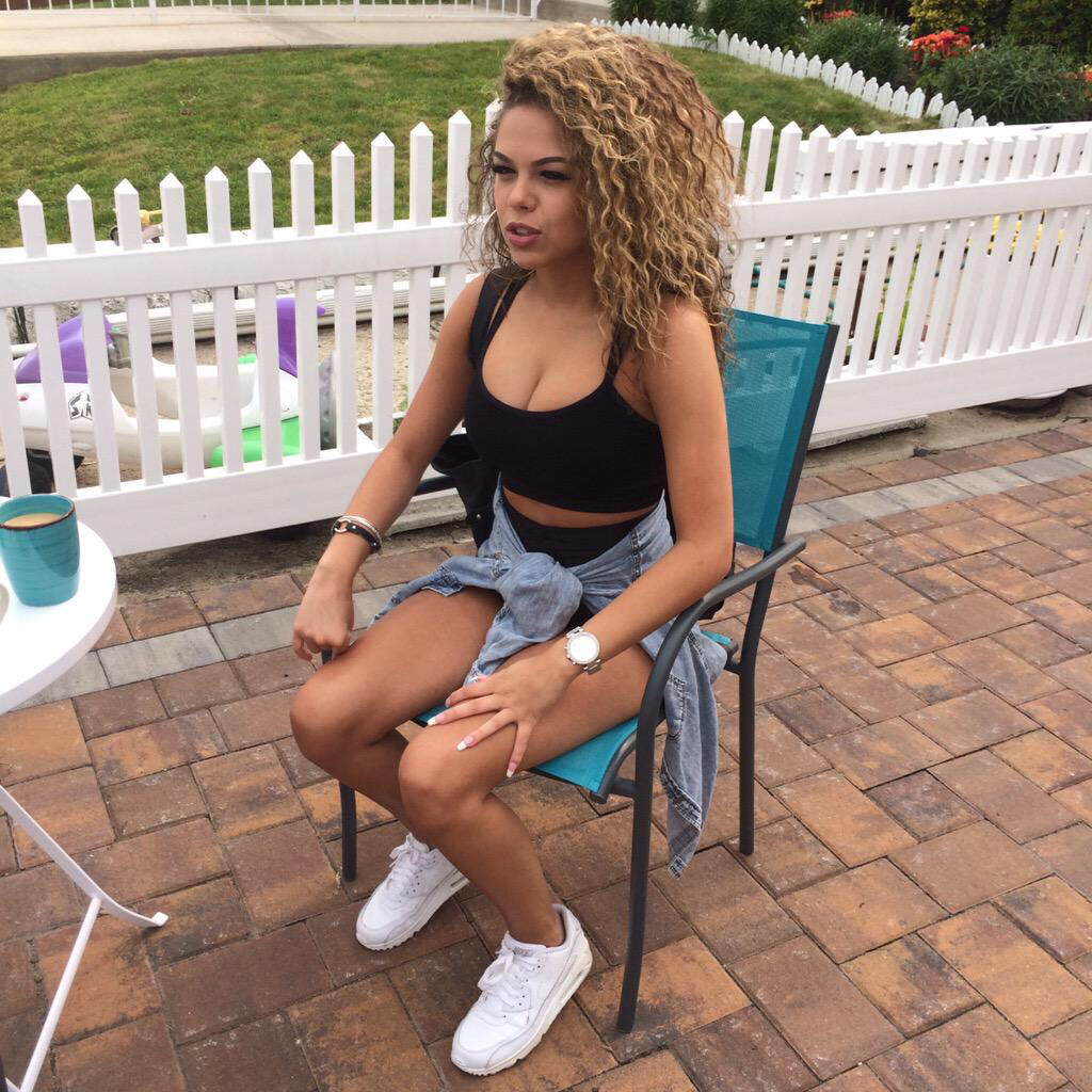 blonde, curly hair, and denim image