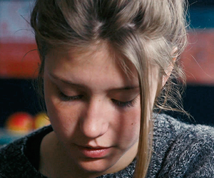 girl, blue is the warmest color, and cinema image