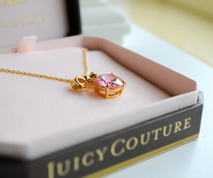 juicy couture, necklace, and pink image