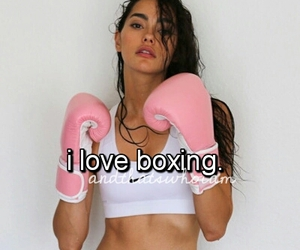boxing, fight, and love image