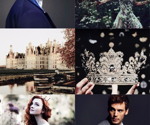 book, king and queen, and kiera cass image