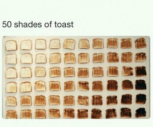 funny, toast, and lol image
