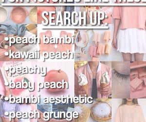edit, peachy, and soft peach image