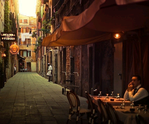 italy, restaurant, and street image