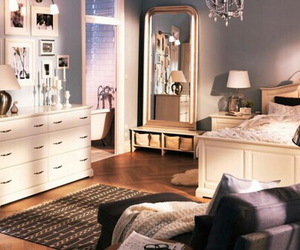 bedroom, room, and ikea image