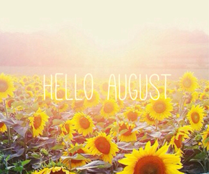 August, hello, and pretty image