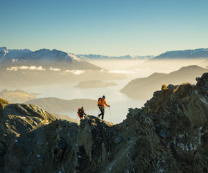 adventure, lake, and mountains image