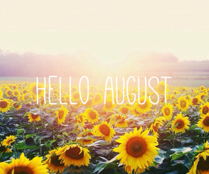 August, pretty, and summer image