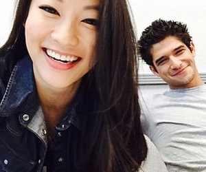 tyler posey, arden cho, and teen wolf image