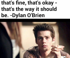 stiles, quotte, and dylan o´brien image
