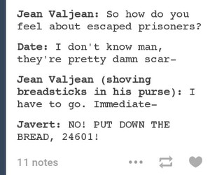 funny, les miserables, and meme image