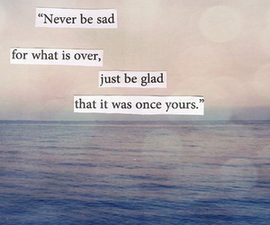 quote, sad, and over image