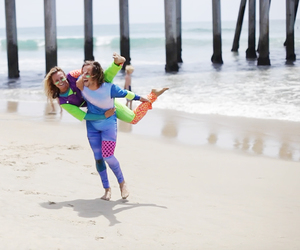 beach, california, and huntington beach image