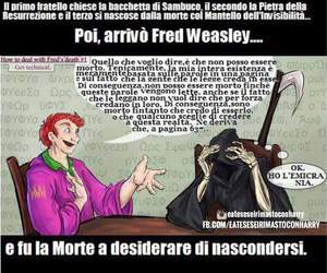 harry potter, morte, and fred weasley image