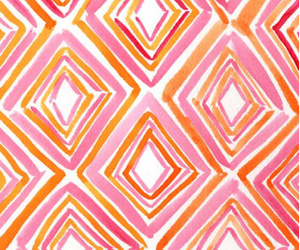 wallpaper, geometric, and pink image