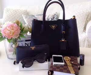 accessories, Prada, and style image
