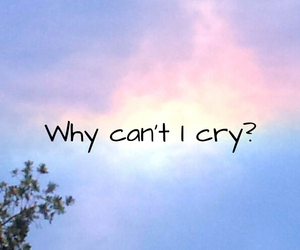 cry, NUMB, and quotes image