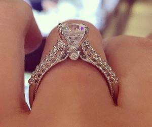 fashion and engaged ring image