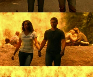 mike vogel, under the dome, and kylie bunbury image