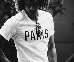 football, hair, and paris image