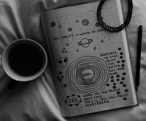 grunge, coffee, and tumblr image